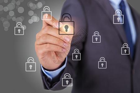商务人士科技信息解码图片