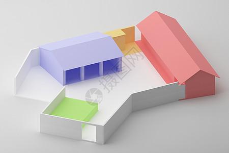 建筑手工模型图片