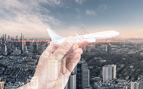 城市背景商务物流素材图片图片
