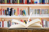 图书馆读书图片