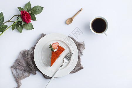 草莓蛋糕图片