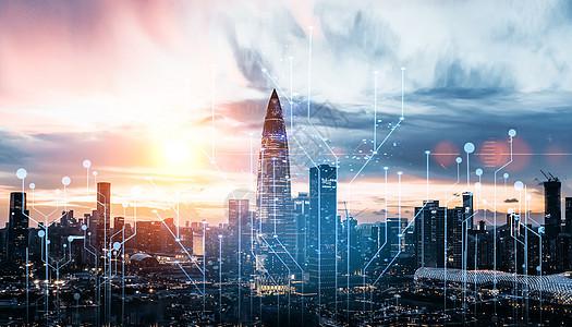 城市建筑科技图片