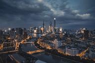 风起云涌陆家嘴城市建筑风光图片