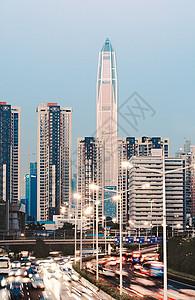 繁华的现代都市素材图片图片