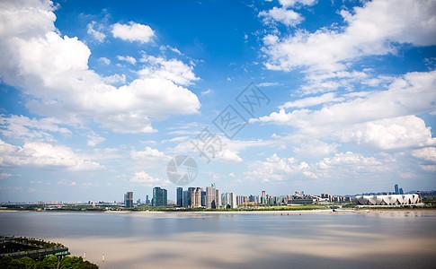 杭州钱江新城图片