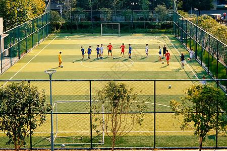 武汉足球场五人制足球赛图片