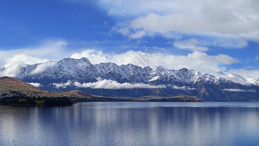 新西兰皇后镇自驾路上风景图片