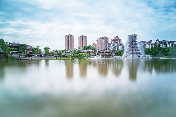 秀湖公园图片