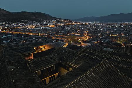 丽江夜景图片