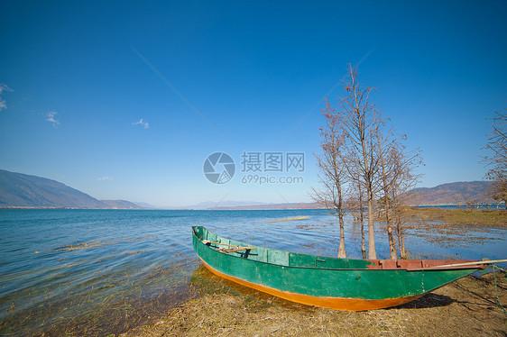 洱海湖畔图片