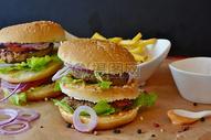 牛肉汉堡图片