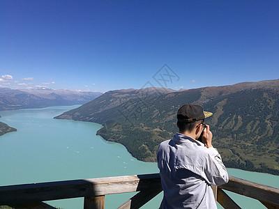 新疆喀纳斯湖观鱼台图片