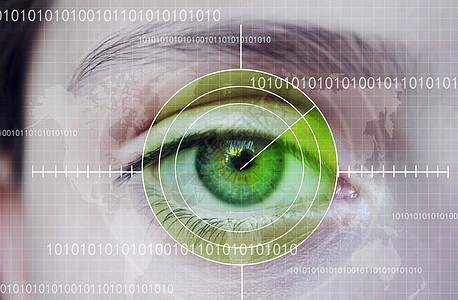 科技眼睛图片