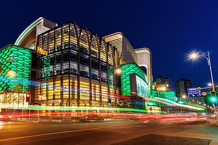 城市夜晚光景图片
