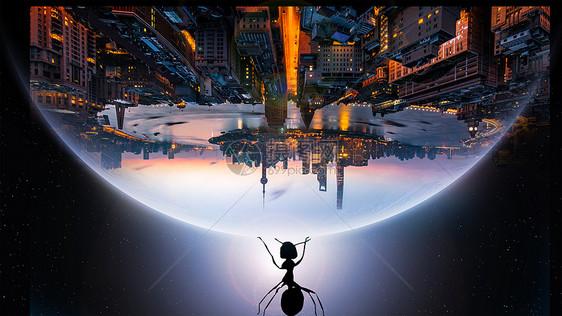 蚂蚁的力量图片