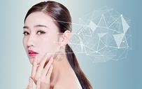 人物皮肤护理理念图片