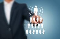 人力资源与招聘业务概念图片