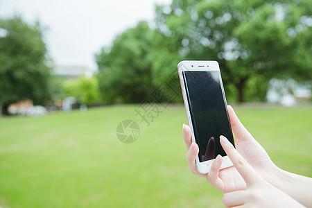 手点击手机屏幕素材高清图片