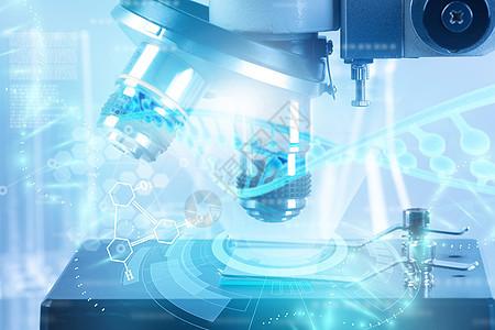 显微镜下的基因工程图片