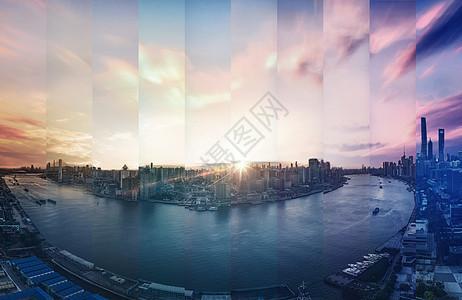 城市拼图图片