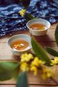 中秋饮品桂花茶图片