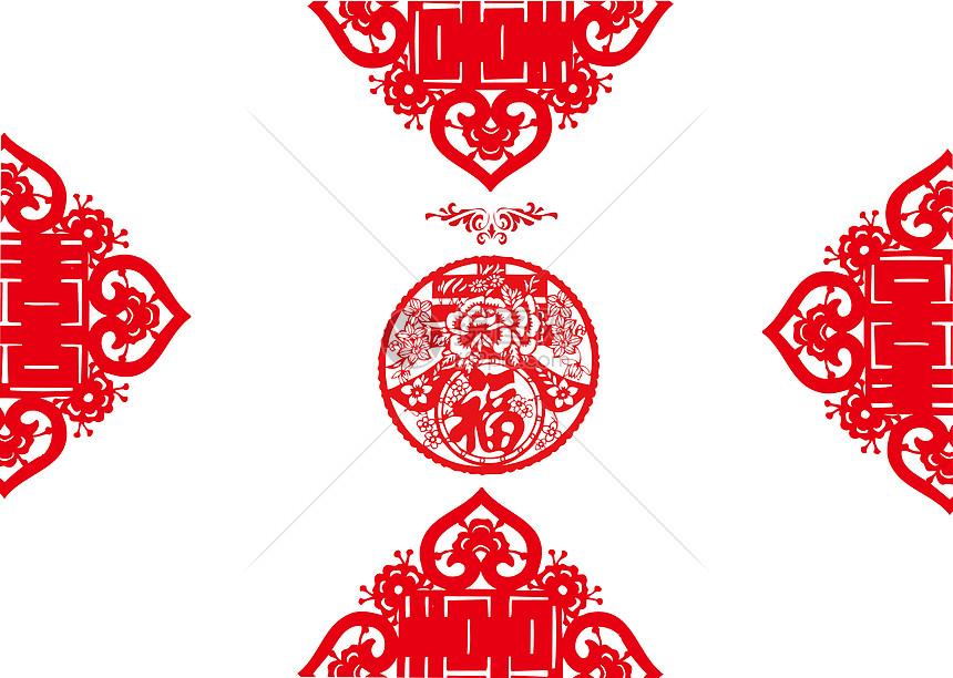 剪纸中国风图片