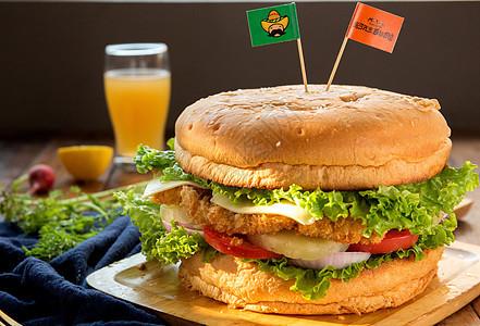 超级大汉堡图片