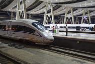 北京的高铁火车站图片