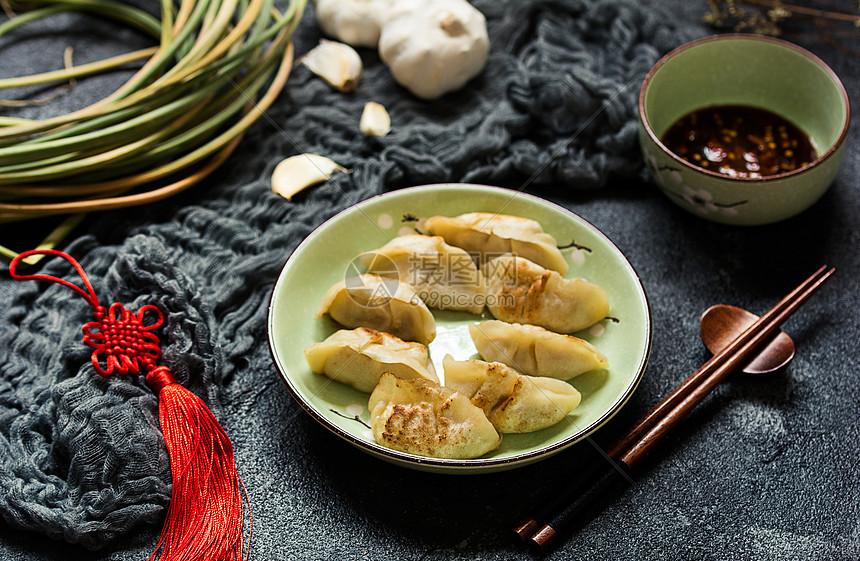 中国风饺子图片