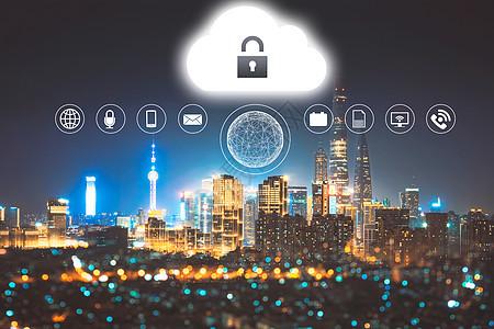 城市网络信息科技图片