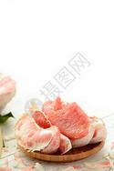 红心柚子亮调小清新摄影图片