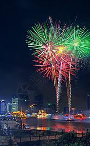 上海的国庆夜图片