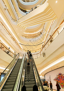 上海 万象城立体电梯图片