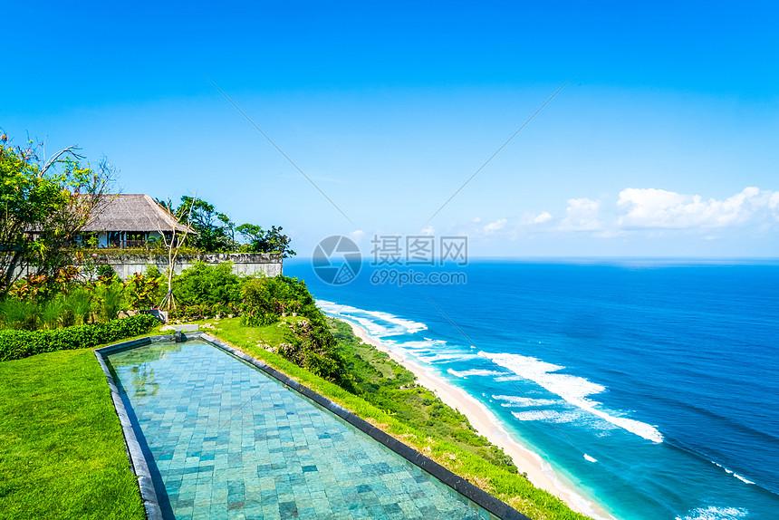 唯美图片 旅游度假 海边别墅jpg
