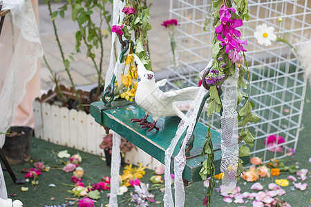 北京玫瑰花园一角图片