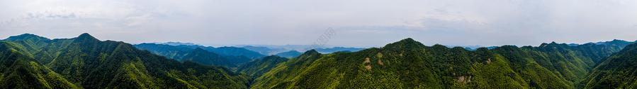 崇山峻岭全景图片