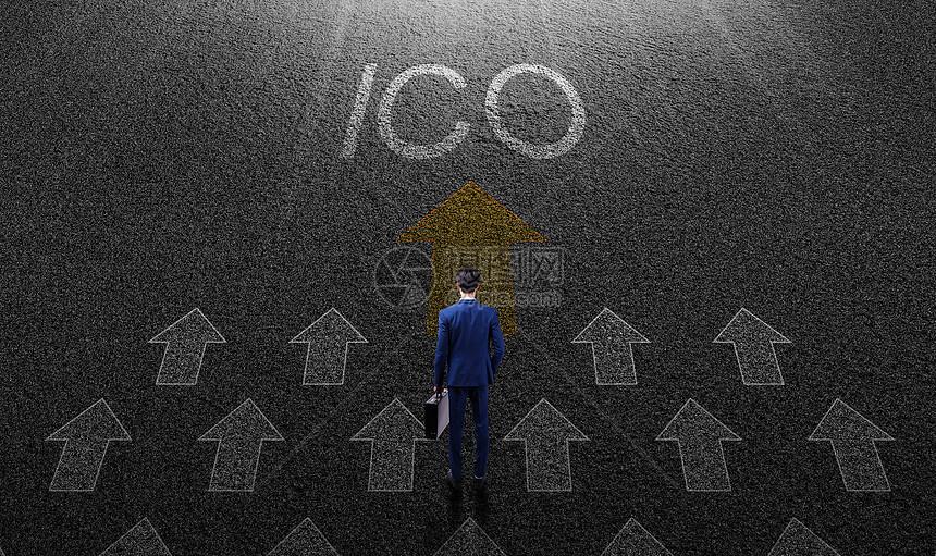 商务人ICO图片