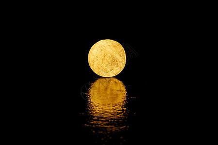 唯美月球灯图片