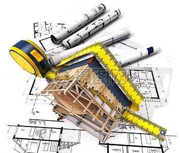 建筑模型与图纸图片