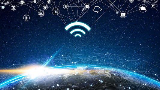 科幻星空背景图片