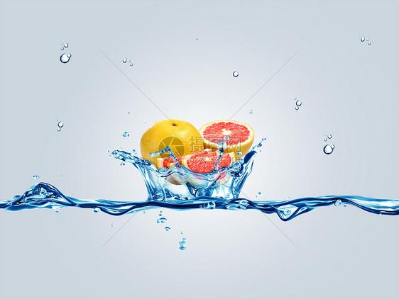 水上西柚图片