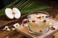冰糖雪梨菊花茶图片