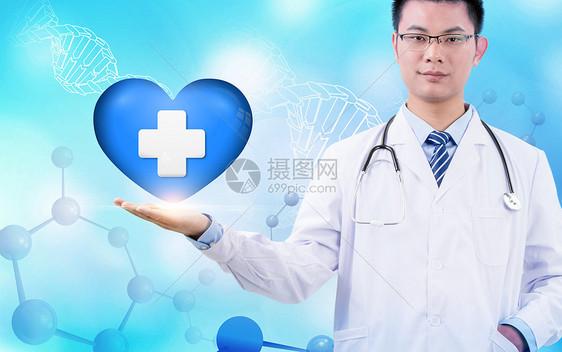 医疗背景图片