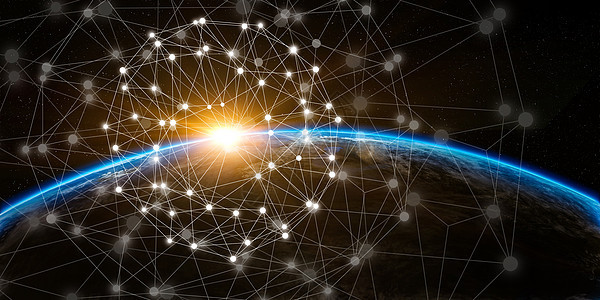星空科技背景图片