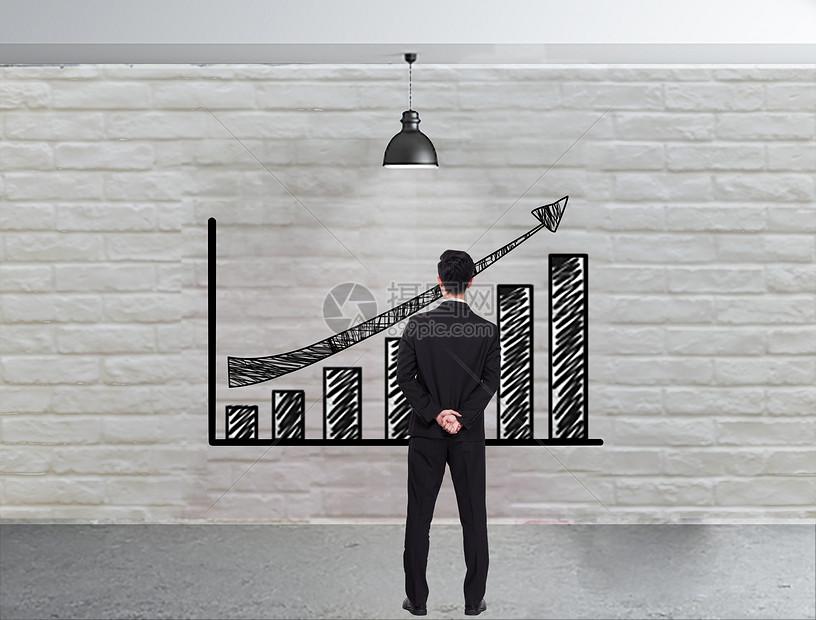 利润数据图图片