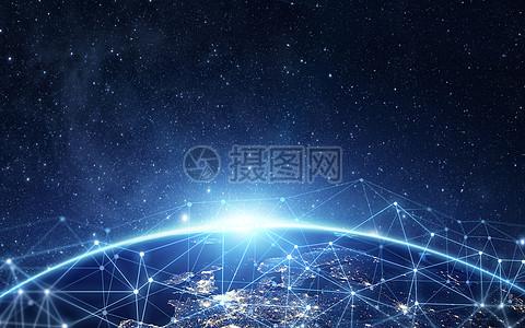 网络地球图片