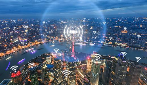 科技城市智能化图片