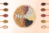 五谷健康饮食图片