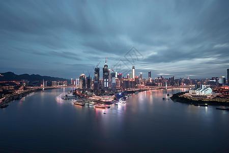 重庆渝中半岛夜景图片