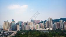 香港城市楼房图片